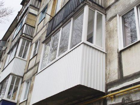Балкон-внешняя-отделка
