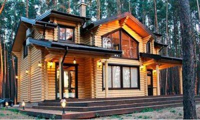 остекление деревянный дом